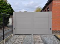 Aluminium poorten - MODEL 400