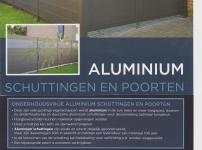 Aluminium schutsels