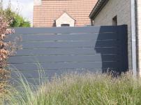 Aluminium poorten - ARUM HOR vast hek