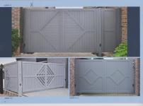 Aluminium poorten - MISSOURI RUIT