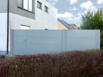 Aluminium poorten - MODEL 400 STRAK DP+VH TOE