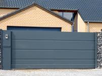 Aluminium poorten - MODEL 400 STRAK SP TOE