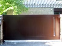 Aluminium poorten - MR 200 PERFO DP