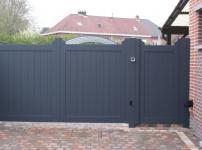 Aluminium poorten - MRH140 DP EP zonder tussenbalk