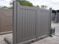 Aluminium poorten - MRH140 vol spatie