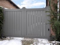 Aluminium poorten - MODEL MRH200 DP