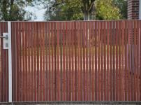 Aluminium poorten - Niagara 10 Hout