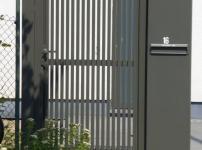 Aluminium poorten - NIAGARA 4 VERT ep