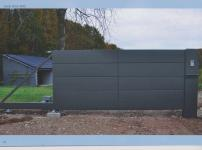 Aluminium poorten - ZINNIA SP