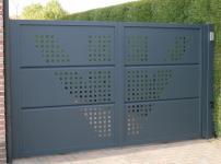 Aluminium poorten - ZINNIA W DP