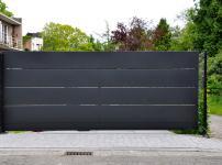 Aluminium poorten - ZINNIA