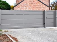 Aluminium poorten - MODEL 400 PERFO